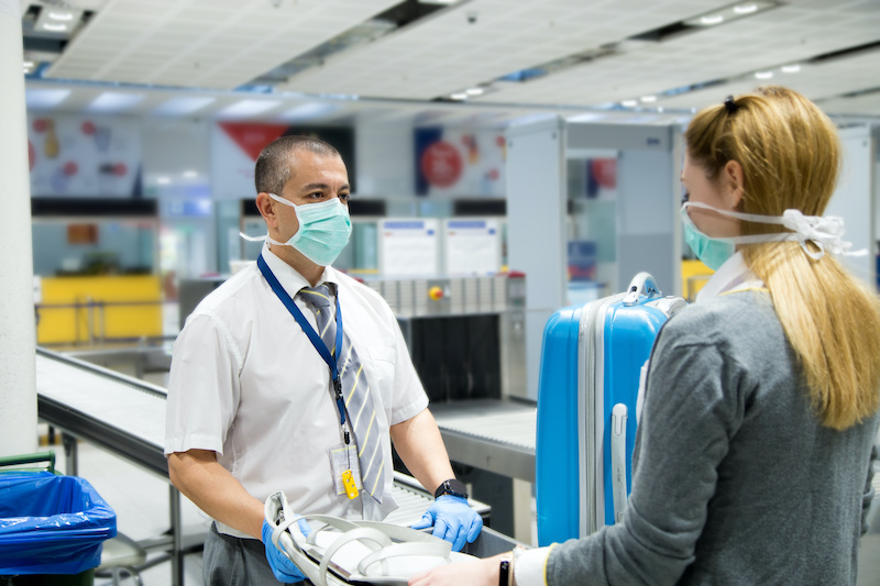 What It's Like to Get a Rapid Covid Test at Bradley International Airport
