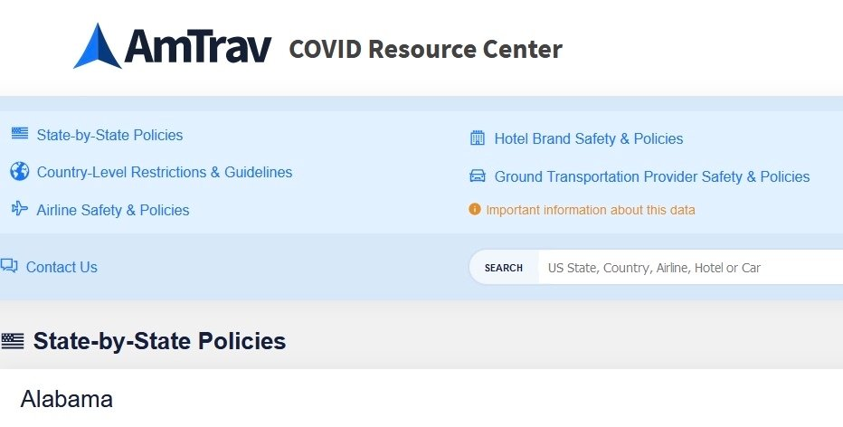 Fast, Confident Travel Preparation: The AmTrav COVID Resource Center