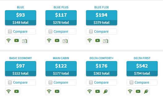 Did You Know: Instant Fare Comparisons